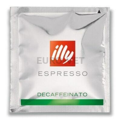 Illy E.S.E. Decaffeinated (koffeinmentes, zöld) adagos kávé