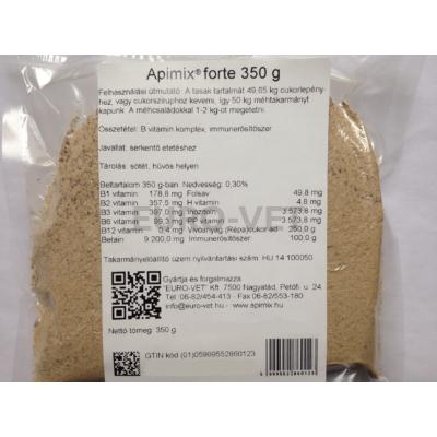 Apimix forte immunerősítő készítmény méhek részére 350 g