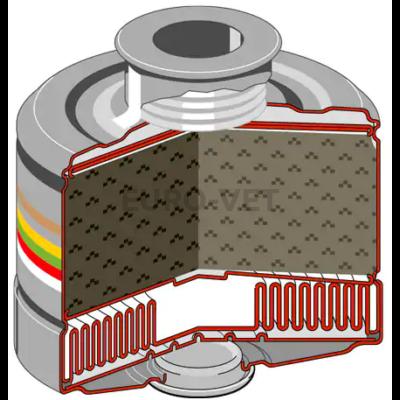Dräger X-plore 6300  többször használható teljesálarc