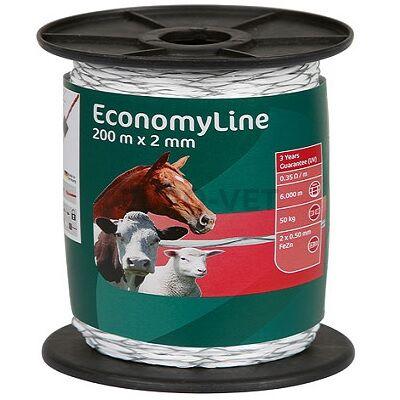 Ako EconomyLine Villanypásztor vezeték 200 m X 2 mm