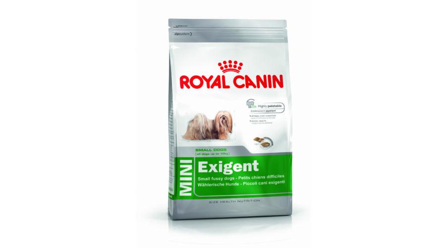 royal canin mini exigent 0 8 kg llateledel euro vet ruh z. Black Bedroom Furniture Sets. Home Design Ideas