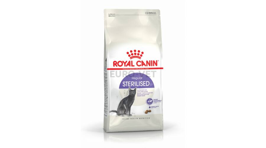 royal canin sterilised 37 10 kg feed euro vet webshop. Black Bedroom Furniture Sets. Home Design Ideas