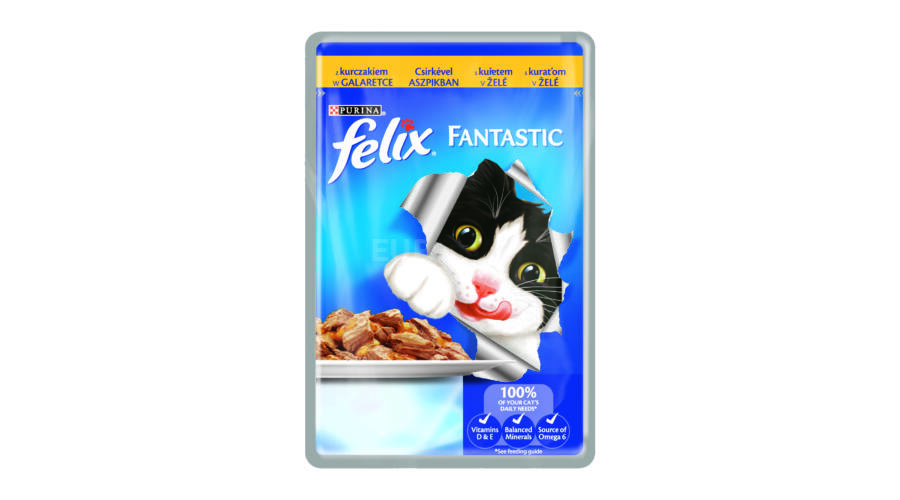 felix chicken pouch 100g feed euro vet webshop. Black Bedroom Furniture Sets. Home Design Ideas